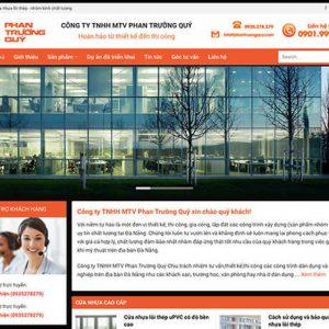 website Công ty nhôm kính
