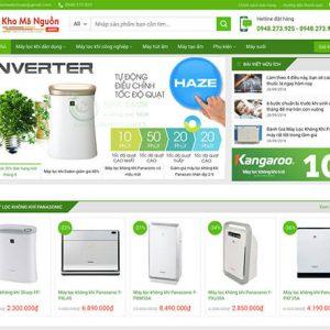 website Cửa hàng máy lọc không khí