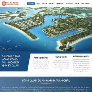 website Dự án bất động sản