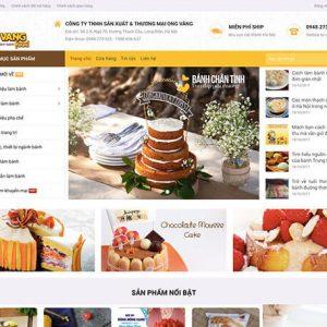 website Nguyên vật liệu làm bánh