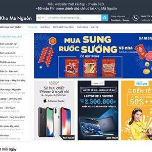 website Shop bán hàng tổng hợp