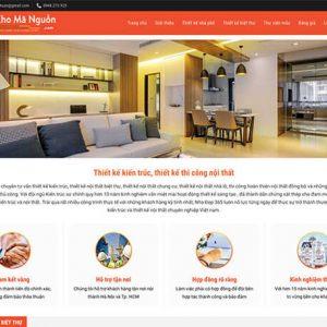 website Thiết kế nội thất