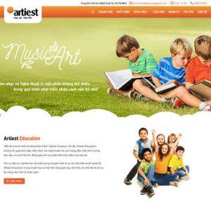 website Trung tâm Văn học Nghệ thuật