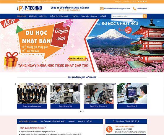 Website du học - xuất khẩu lao động
