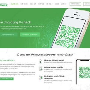 Landing page giới thiệu app