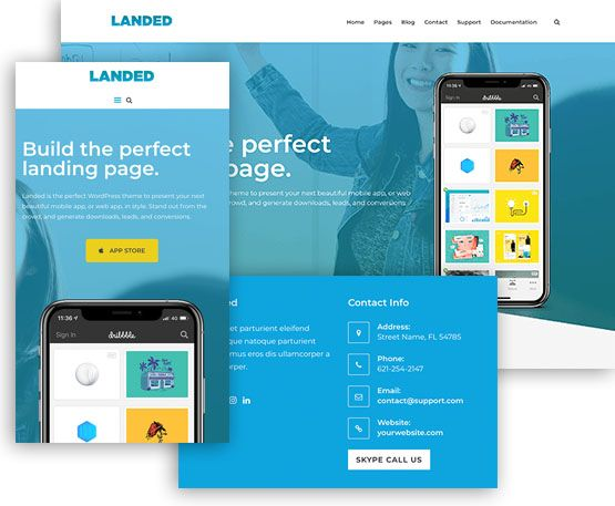 Landed – ThemeJunkie