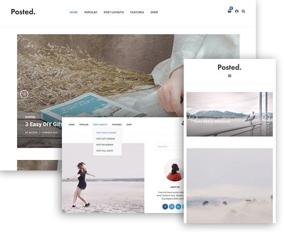 Posted – ThemeJunkie