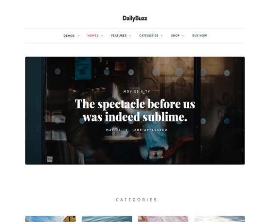 Dailybuzz - MyThemeShop