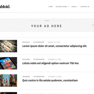 Tabloid - MyThemeShop