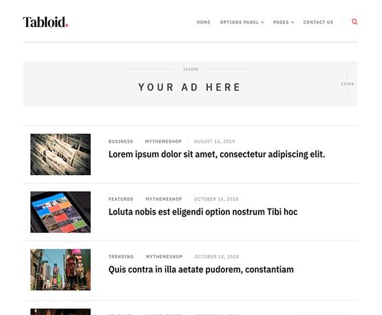 Tabloid - MyThemeShop