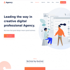 Agency - MyThemeShop