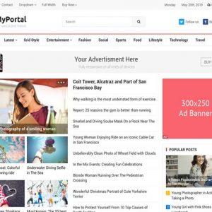 MyPortal - HappyThemes