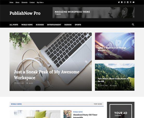 PublishNow Pro - HappyThemes