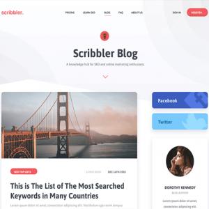Scribbler - MyThemeShop