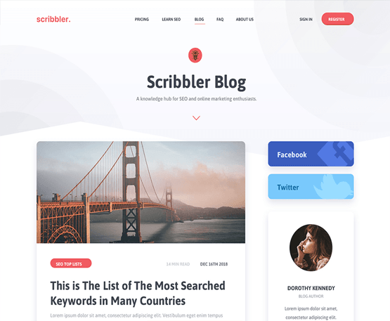 Scribbler - MyThemeShop