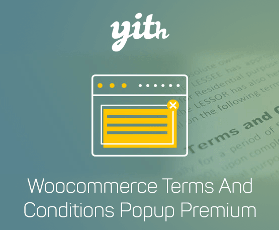 YITH Woocommerce Terms And Conditions Popup Premium