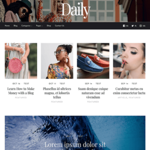 Daily - MyThemeShop