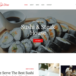 DinePress Pro - HappyThemes