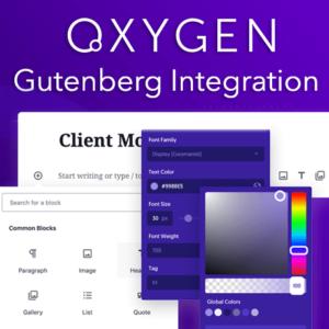 Oxygen Gutenberg