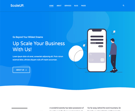 Scaleup Pro - HappyThemes
