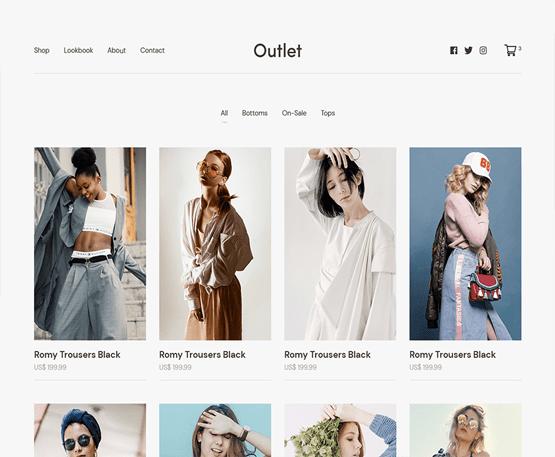 Outlet - MyThemeShop