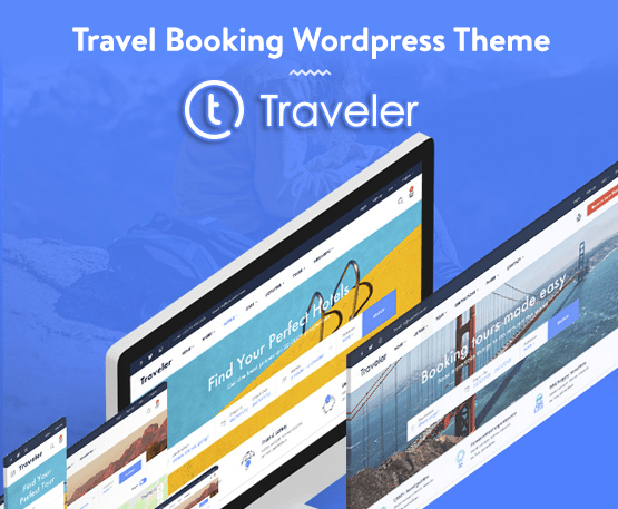 Traveler - Travel Booking WordPress Theme