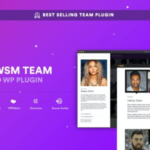 AWSM Team Pro - Team Showcase Plugin
