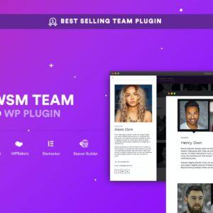 AWSM Team Pro - Team Showcase Plugin
