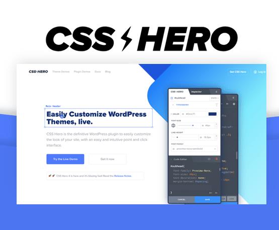 CSS Hero - Visual CSS Editor
