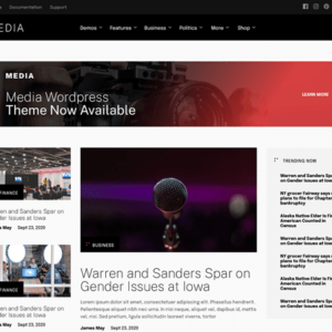 Media - A WordPress Theme for Media - MyThemeShop