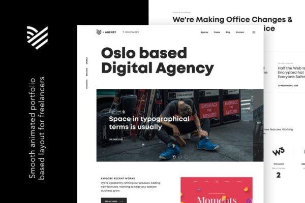 Agensy - Digital Lab & Creative Solutions Theme 1