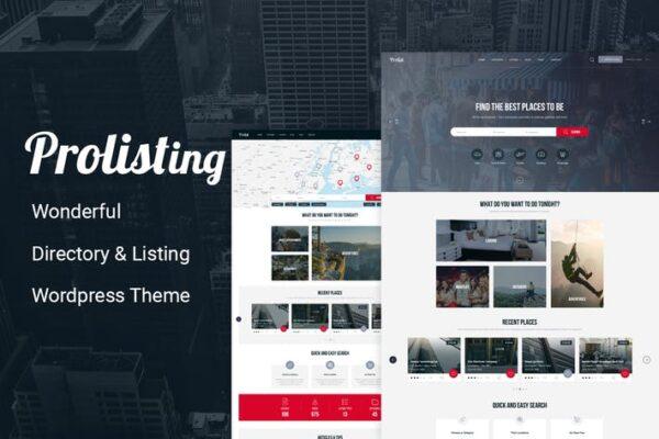 Prolisting - Directory Listing WordPress Theme 1