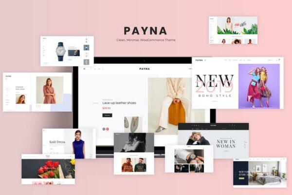 Payna - Clean, Minimal WooCommerce Theme 1