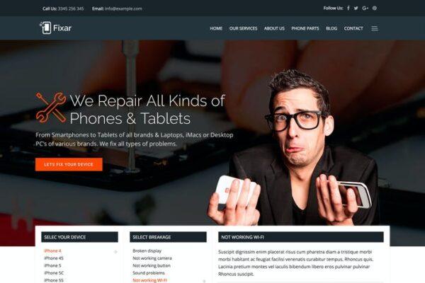Fixar - Phone & Computer Repair Theme 1