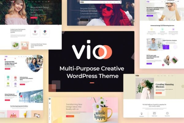 Vio - Multi-purpose Creative WordPress Theme 1