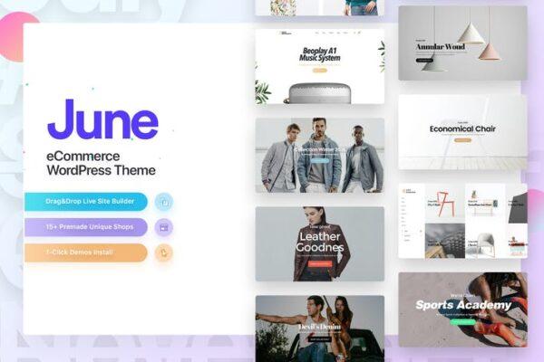 June - Fashion WooCommerce WordPress Theme 1