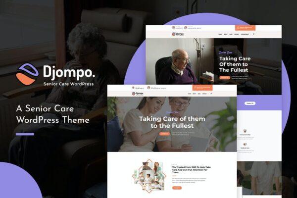 Djompo - Senior Care WordPress Theme 1