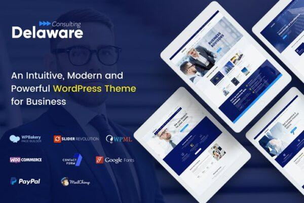 Delaware - Multi-Purpose Business WordPress Theme 1