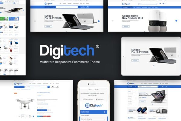 Digitech - Technology Theme for WordPress 1