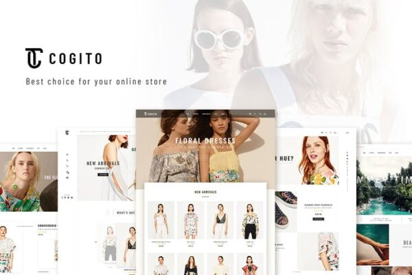 Cogito - Clean, Minimal WooCommerce Theme 1
