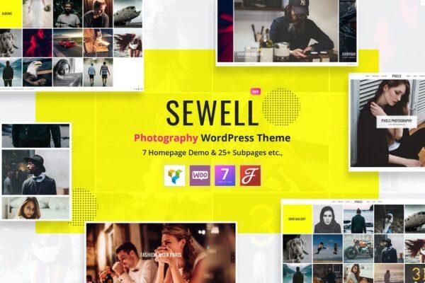 Sewell - Photography WordPress Theme 1