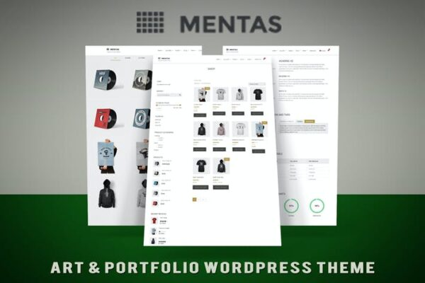 Mental - Agency & Portfolio Theme 1