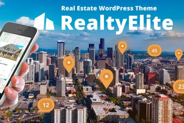 RealtyElite - Real Estate WordPress Theme 1