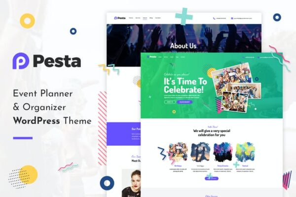Pesta - Event Planner & Organizer WordPress Theme 1