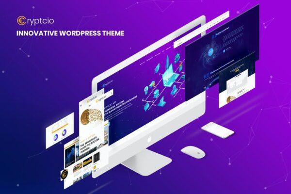 Cryptcio - Innovative WordPress Theme 1