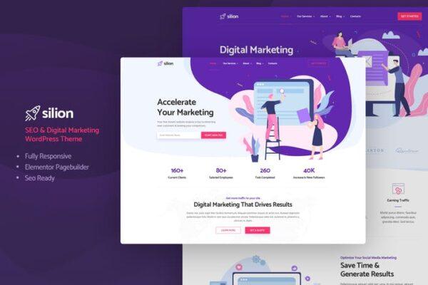 Silion - Digital Marketing WordPress Theme 1