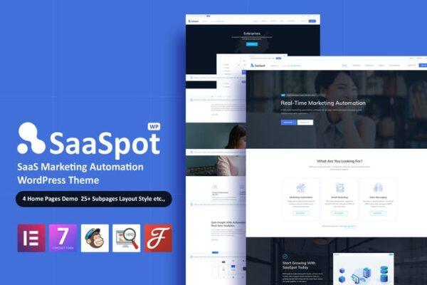 SaaSpot - SaaS Marketing Automation Theme 1