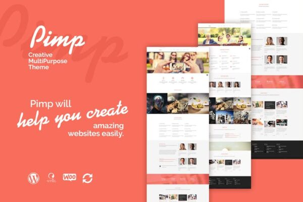 PIMP - Creative MultiPurpose Theme 1