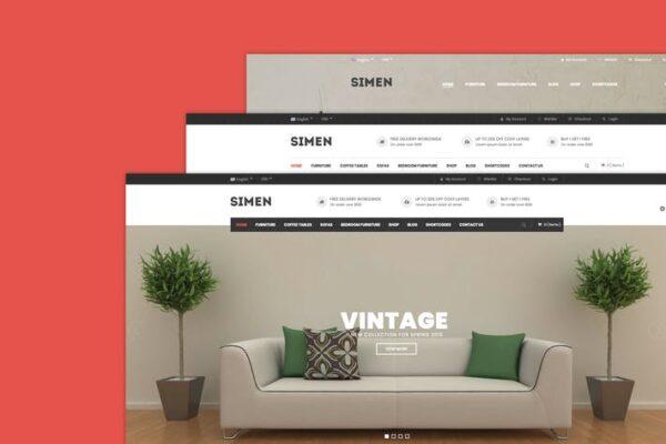 Simen - MultiPurpose WooCommerce WordPress Theme 1