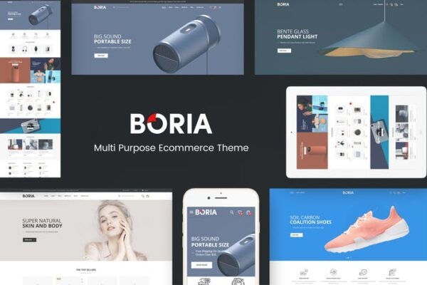 Boria - Multipurpose WooCommerce WordPress Theme 1